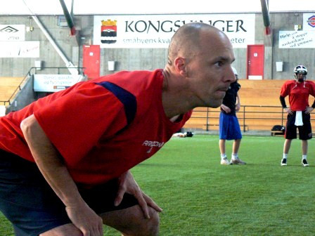Norge IFAF World Team Clinic foto: All Sport Idrott